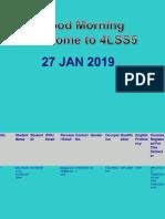 WUC Tutorial 1. JAN 2019