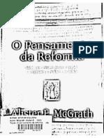 O Pensamento Da Reforma Protestante