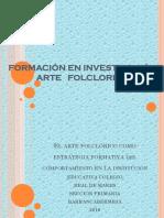 PRESENTACIÓN SARA Proyecto de Arte Folclorico