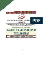 Texto de Innovaciones Pedagogicas