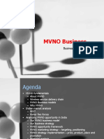 Business Plan MVNO Project Final Presentation