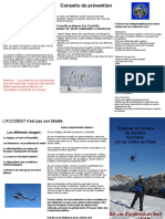 Plaquette Secours Sécurité Montagne Crete Du Forez