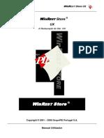 Manual Store UX - Utilizador