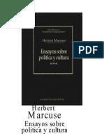 Marcuse_Herbert_-_Ensayos_Sobre_Politica_Y_Cultura