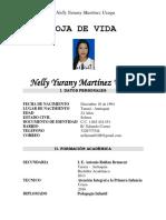 Hoja de Vida de Nelly Yurany Martínez Usuga