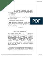 Guaranteed Homes, Inc. vs. Heirs of Maria P. Valdez 577 SCRA 441 , January 30, 2009