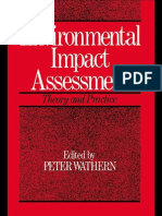 Environmental Impact Assessment Theory and Practice