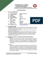 Silabo Química I Ciclo Ingeniería Industrial