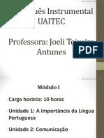 [Cliqueapostilas.com.Br] Portugues Instrumental