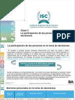 analisis de las organizaciones clase del ISC