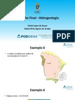 Trabalho Final de Hidrogeologia