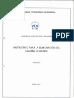 2. Instructivo de Examen Complexivo