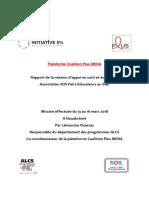 Rapport de La Mission de RC SE SOS PE_Mars2018