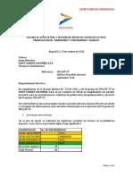 Cuarto Informe Del Oficial de Cumplimiento SIPLAFT-CT