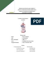 laporan calamine lotion
