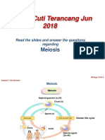 Biology F4 meiosis