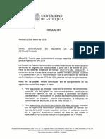 Circular 001-2019 Cesantías