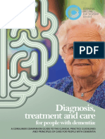 Diagnosis, treatment and care for people with dementia
