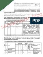ONGC Recruitment January 2019 36 Assistant Technician Junior Assistant Technician Posts