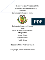 Informe de Aplicacion Fichas MOIDI-1.1-1