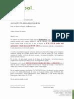 Carta Cobranza Fiorella