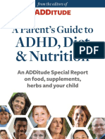 ADDitude eBook Parents Guide to ADHD Diet and Nutrition