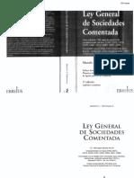 2001 Ley General de Sociedades Comentada