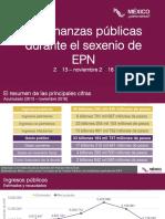 Finanzas Públicas de EPN