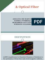Presentasi Sinar Laser dan Fiber Optik