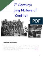 20th C Conflict - Full Booklet
