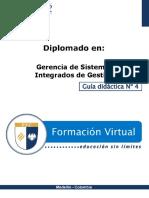 Gerencia sistemas integrados de gestión