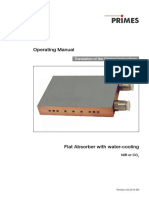 Absorber Flat Operating Manual
