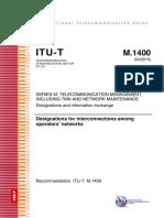 T-REC-M.1400-201504-I!!PDF-E