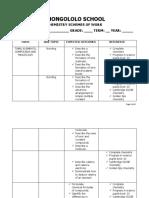 Chemistry Schemes of Work Grade 11