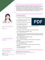 Cv Juanita Lorena de La Cruz Rodríguez