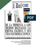 De la imprenta a los medios digitales