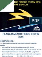 Planejamento Fisico Storm 2016