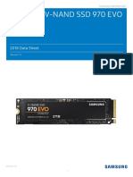 Samsung NVMe SSD 970 EVO Data Sheet Rev.1.0