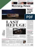 The Mercury News on Dec. 19, 2018