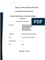 Interpretación Del Acto Jurídico - Final