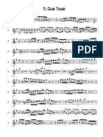 El Gran Tirano - Score