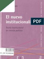 Peters Guy - El Nuevo Institucionalismo (2003)