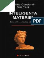 Dumitru Constantin Dulcan Inteligenta Materiei Pdfpdf