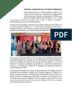 Acuerdo Sobre Identidad y Derechos de Los Pueblos Indígena1