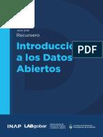2. PDF INAP - Introducción a los Datos Abiertos - UNIDAD 6