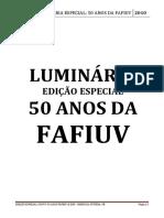 Luminária 50 anos