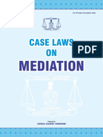 Case Laws on Mediation