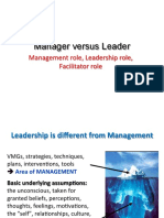 3-Manager Versus Leader
