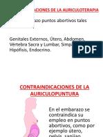 Contraindicaciones de La Auriculoterapia