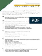 reading - arc - parent letter of student progress